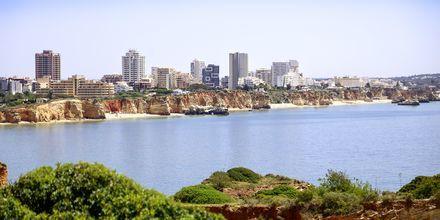 Portimão på Algarvekusten, Portugal.