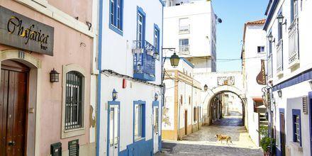 Portimao på Algarvekusten, Portugal.