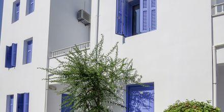 Hotellområde på Porto Galini på Lefkas, Grekland.