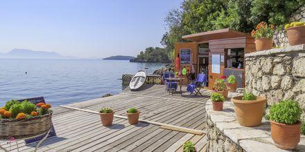 Hotell Porto Galini, Lefkas i Grekland.