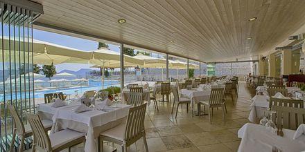 Restaurang på hotell Porto Galini, Lefkas.