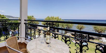Tvårumslägenhet på hotell Porto Iliessa i Argassi på Zakynthos.