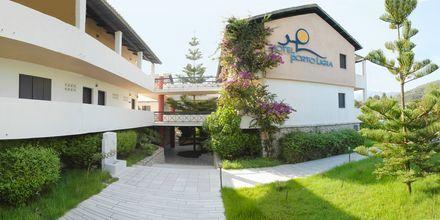 Hotell Porto Ligia på Lefkas, Grekland.