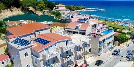 Hotell Porto Planos Beach på Zakynthos, Grekland.