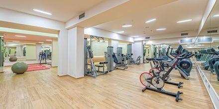 Gym på hotell Porto Platanias på Kreta.