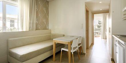 Tvårumslägenhet på hotell Poseidon i Paleochora på Kreta, Grekland.