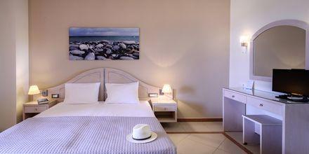 Enrumslägenhet på hotell Poseidon i Paleochora på Kreta, Grekland.