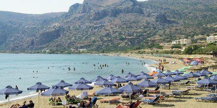Strand i Paleochora, Kreta.