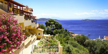Hotell Poseidon på Skiathos, Grekland.