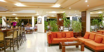 Lobby på hotell Poseidonia i Ixia, Rhodos.
