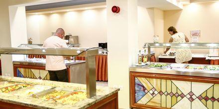 Restaurangen på hotell Poseidonia i Ixia, Rhodos.