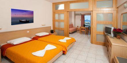 Enrumslägenhet på hotell Poseidonia i Ixia, Rhodos.