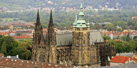 St. Vitus Katedralen - ett riktigt landmärke i Prag.