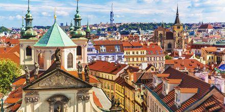 Gamla stan i Prag, Tjeckien.