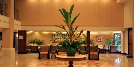 Lobby på hotell Prama Sanur Beach, Bali.