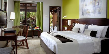 Deluxerum på hotell Prime Plaza Sanur i Sanur på Bali.