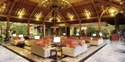 Lobbyn på hotell Prime Plaza Sanur i Sanur på Bali.