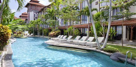 Poolområdet på hotell Prime Plaza Sanur i Sanur på Bali.