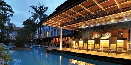 Poolbaren på hotell Prime Plaza Sanur i Sanur på Bali.