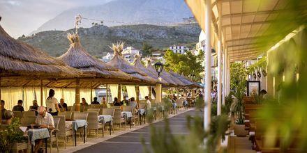 Restaurangen på hotell Primordia i Podgora på Makarska Rivieran.