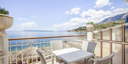 Hotell Primordia i Podgora på Makarska Rivieran, Kroatien.