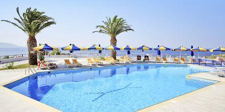 Poolområdet vid Princessa Riviera Resort på Samos, Grekland.