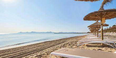 Stranden vid Prinsotel La Dorada, Mallorca.