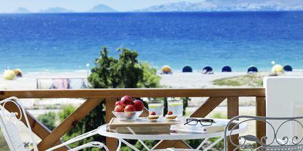 Vackra utsikter från hotell Ramira Beach i Psalidi.