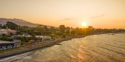 Solnedgång över Psalidi på Kos, Grekland.