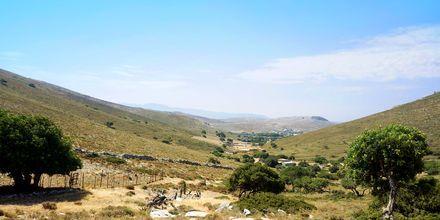 Större delen av Pserimos är orört och bjuder på många vandringsmöjligheter.