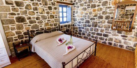 Tvårumslägenhet i etage på Pserimos Villas, Grekland.
