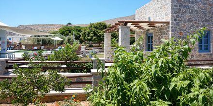 Hotell Pserimos Villas på Pserimos, Grekland.