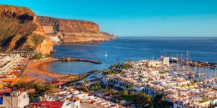Puerto de Mogán på Gran Canaria, Spanien.