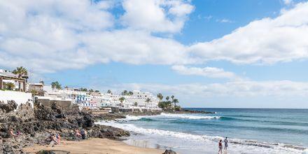 Puerto del Carmen på Lanzarote, Kanarieöarna.
