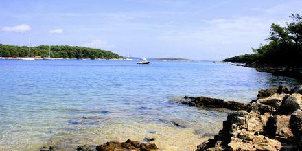 Kamenjak Beach strax utanför Pula i Istrien, Kroatien.