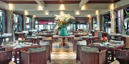 Restaurang på hotell Puri Santrian i Sanur, Bali.