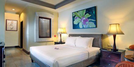 Dubbelrum på hotell Puri Santrian i Sanur, Bali.