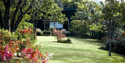 Trädgård på hotell Quinta da Casa Branca i Funchal, Madeira.