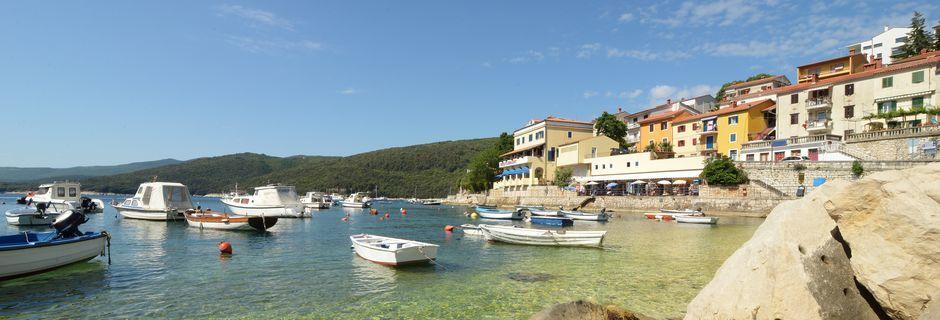 Rabac är en gammal fiskeby.