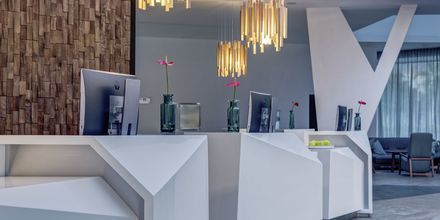 Receptionen på Radisson Blu Resort & Spa i Puerto de Mogán på Gran Canaria.