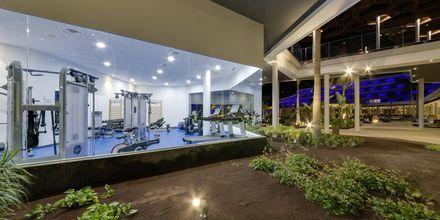 Gym på Radisson Blu Resort & Spa i Puerto de Mogán på Gran Canaria.