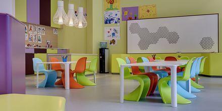 Barnklubb på Radisson Blu Resort & Spa i Puerto de Mogán på Gran Canaria.