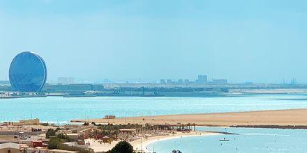 Beach Club på hotell Radisson Blu Yas Island i Abu Dhabi.