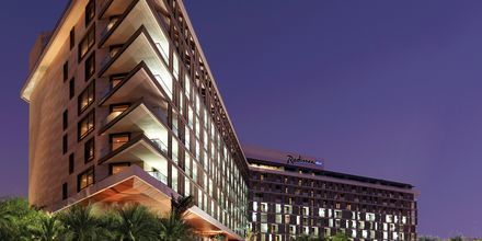 Hotell Radisson Blu Yas Island i Abu Dhabi.