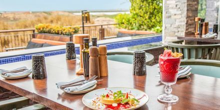 Restaurang på hotell Radisson Blu Yas Island i Abu Dhabi.