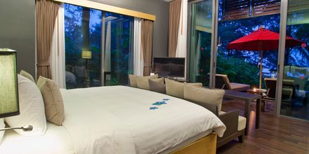 Seafront Villa på hotell Ramada Resort Khao Lak i Thailand.