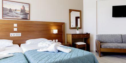 Enrumslägenhet på hotell Rania i Platanias, Kreta.