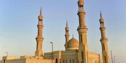 Moské i Ras Al Khaimah, Förenade Arabemiraten.