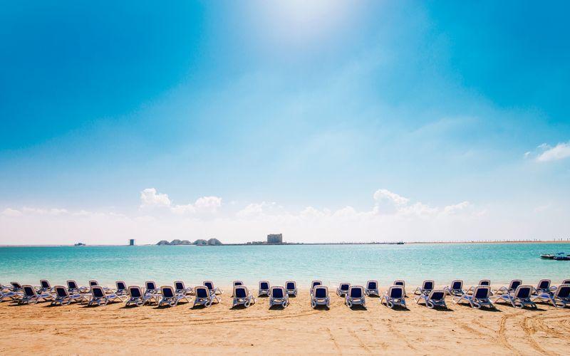 Strand i Ras Al Khaimah.