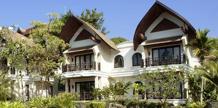 Villor på hotell Rawi Warin på Koh Lanta, Thailand.